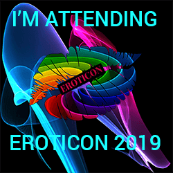 Eroticon 2019 I'm Attending Badge